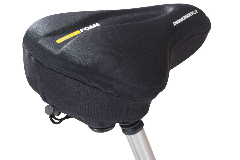 PllowTop Memory Foam Bike Seat Pad - LRG