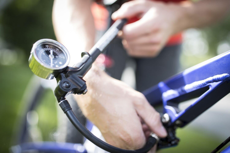 Suspension Shock Bike Pump