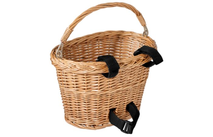 Wicker Front Bike Basket
