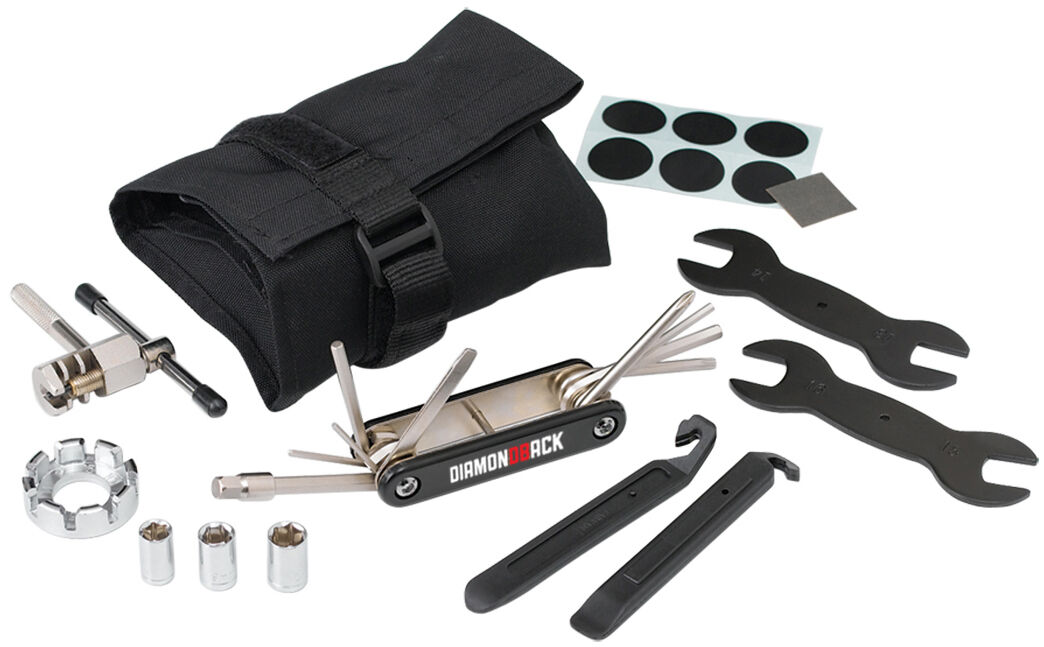 Roll-Up Bicycle Tool Kit